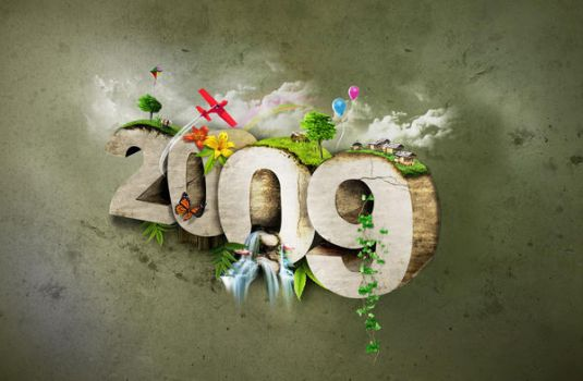 HAPPY NEW YEAR 2009 by 11thagency