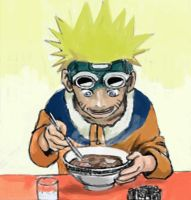 naruto and ramen by doneplay