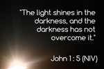 John 1:5 by ChristCentric