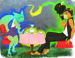 Tea For Two - Gift by Coahtemoc