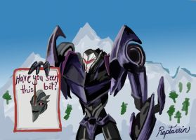 Holiday Greetings from Steve by raptarrin