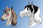 Solmyrkva and Quoth +video by gray-wolf-queen
