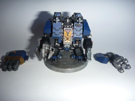 Space Marines Ironclad Dreadnought by zingy180