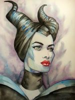 Maleficent by Godisinvincible