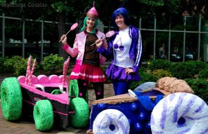 Sugar Rush Racers Cosplay, Wreck It Ralph by Malicious-Cosplay