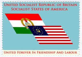 Socialist stamp by Party9999999