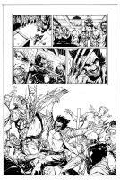Wolverine - Bar Fight Scene page 2 by HenrikJonsson