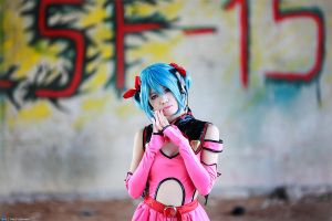 VOCALOID - Heart Hunter outfit by ikabii