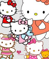 Hello Kitty PNGs by dollfacesaori