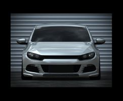 scirocco front by spittty