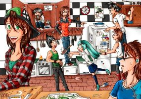 College - kitchenchaos by Frankychan1