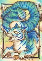 Lunch Time ACEO by Redwall151