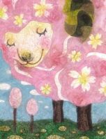 A cherry tree sheep by 6-4-0