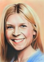 Clemence Poesy portrait by SpringzArt
