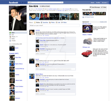 Jim Kirk's Facebook page by nine-tailedgirl