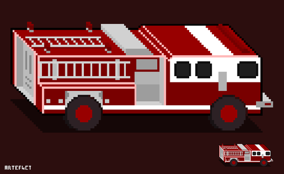 Fire Fighting Vehicle by ArteF4ct