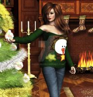 Christmas Sweater by anitalee