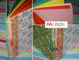 Colorful owl journal by mjdaluz