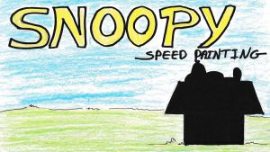 Snoopy title card/thumbnil by IDROIDMONKEY
