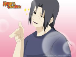 Itachi loves cakes by annria2002