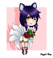 Ahri And Renekton Chibi by Shyori-Nya