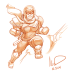 10.21 Captain Falcon by hybridmink