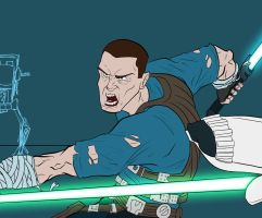 Star Wars - The force unleashed 2 by Duff03
