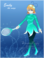 BEYBLADE - Emily the Mage Beta by SlumberPoppy