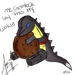 Grimlock Loves Cookies by grapejelleyy06