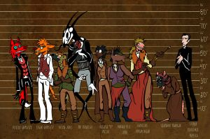 Character Height Chart by ceallach-monster