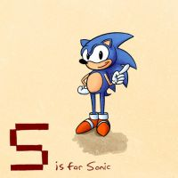 S is for Sonic by KeithAErickson