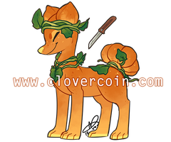 Pillowing Auction: Pumpkin Spice (CLOSED) by CloverCoin
