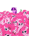 too many Pinkie pies by Jiayi