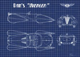 1025.1 - Avenger Blueprints by TwistedMethodDan