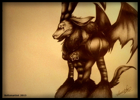 Mephistomon by Boltonartist
