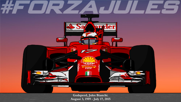 What Should Have Been -- R.I.P. Jules Bianchi by kensethfan