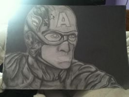 Captain America WIP by pegasuslolly