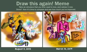 DRAW THIS AGAIN Meme... by NeonCabaret