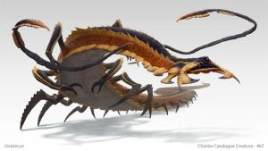 Metterix - creature design by Cloister