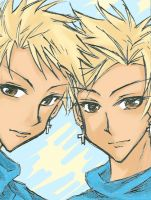 Hitachin Brothers by KitKatKitsune88