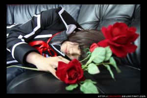 Vampire Knight: Yuki rests... by valxonia