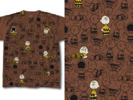 T-Shirt Design Peanuts 04 by RobDuenas