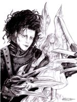 edward scissorhands by Alena-M