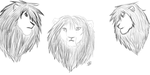 Lion practice by Roselynn1214