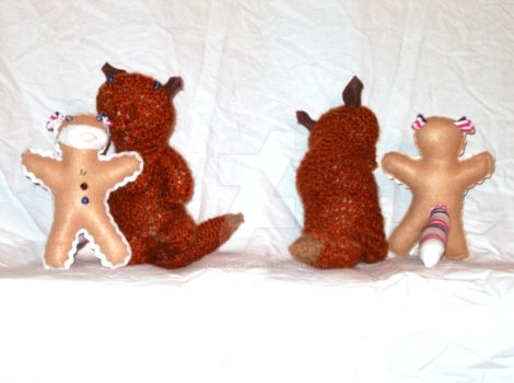 The Gingerbread Monkey? by rosewoodcreations