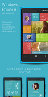 Windows Phone 9 concept by altavizta