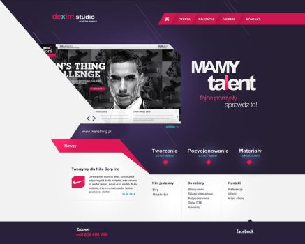 Agency site by dexx27