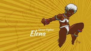Street Fighter - Elena by Ztitus