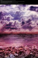 Purple on the Rocks - Stock by Thy-Darkest-Hour