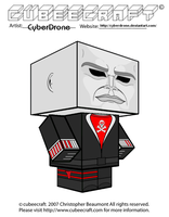 Cubeecraft - Red Jackal 'Action Force' by CyberDrone